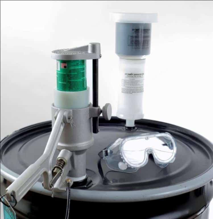 Aerosolv 5000 Recycling System Ramflat