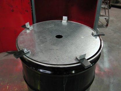 Pak-More Hold-Down Disks prevent waste springback.