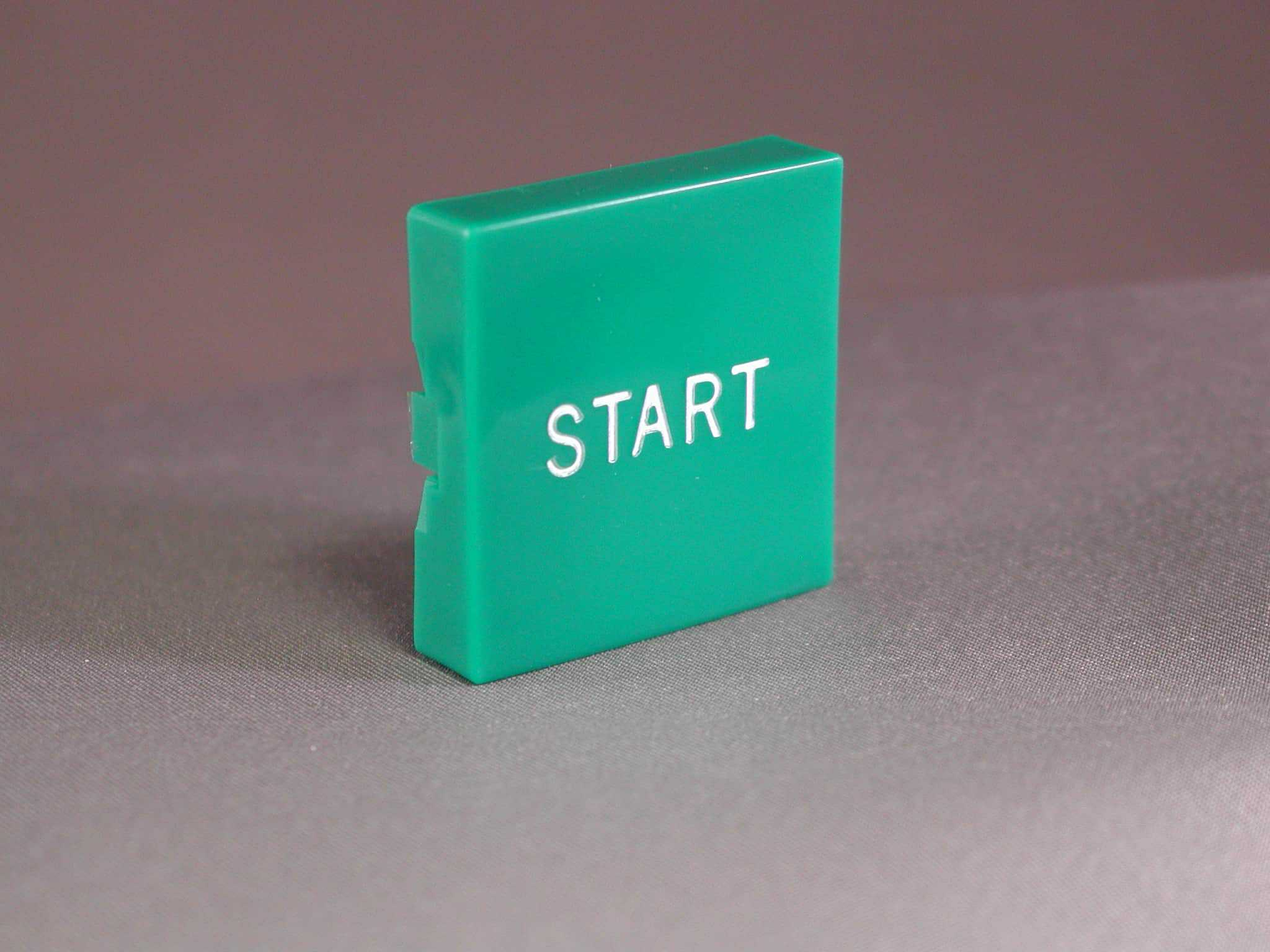 "Plastic Button only ""START"""