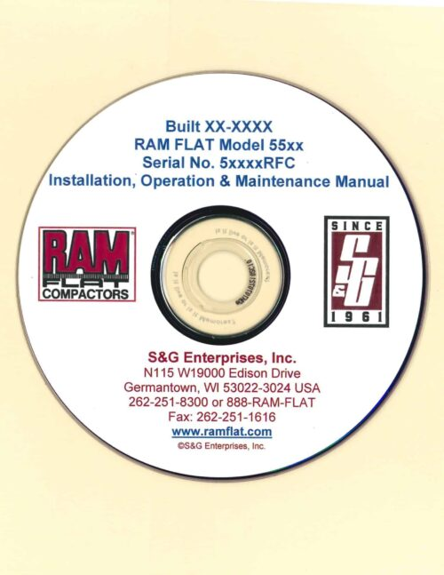 RAM FLAT Operation, Maintenance & Installation e-Manual Download