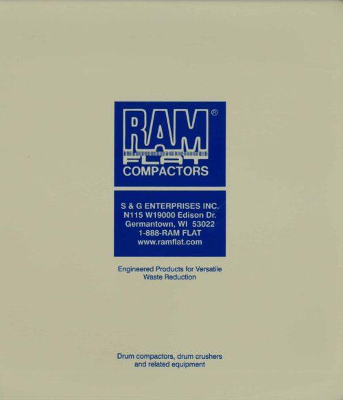 999001 RAM FLAT Equipment Manual