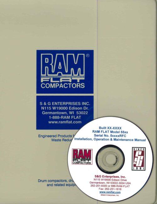 RAM FLAT Operation, Maintenance & Installation Manual + CD